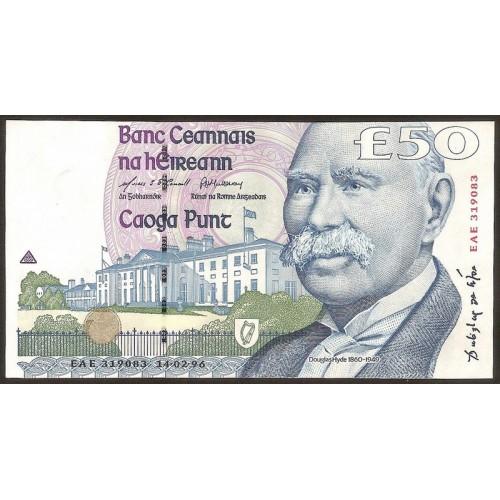 IRELAND 50 Pounds 1996