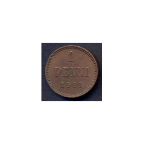 FINLAND 1 Penni 1911