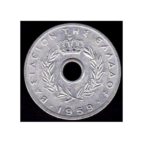 GREECE 10 Lepta 1959
