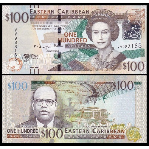 EAST CARIBBEAN STATES 100...