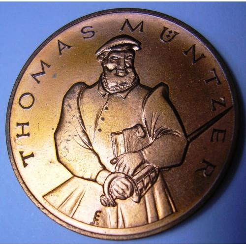 Medal 1967 DDR Thomas...
