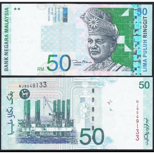 MALAYSIA 50 Ringgit 2001