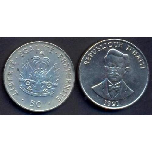 HAITI 50 Centimes 1991 C....