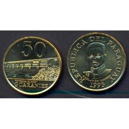 PARAGUAY 50 Guaranies 1995...