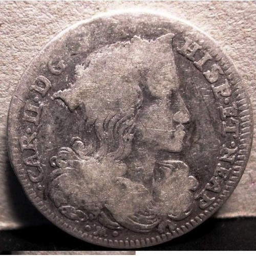 NAPOLI CARLO II Tarì 1695