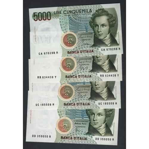 Serie Completa 5000 Lire...
