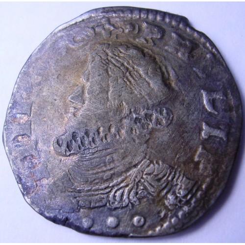 MESSINA FILIPPO IV 3 Tarì 1624