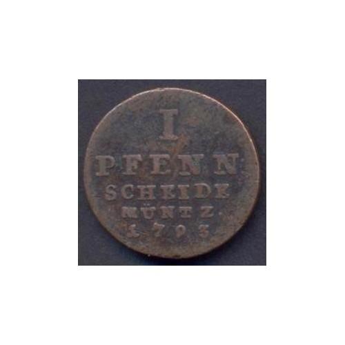 HANNOVER 1 Pfennig 1793