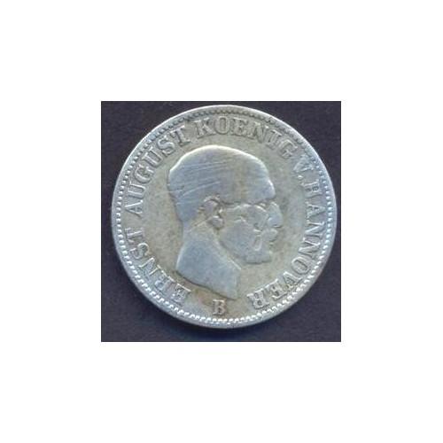 HANNOVER 1/12 Thaler 1850 B AG