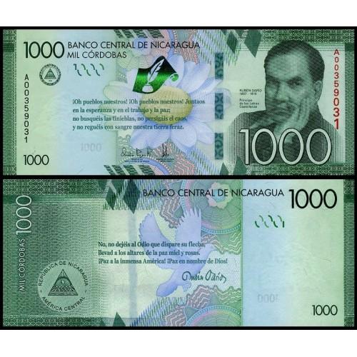 NICARAGUA 1000 Cordobas...