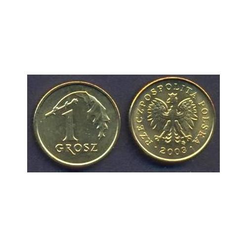 POLAND 1 Grosz 2003