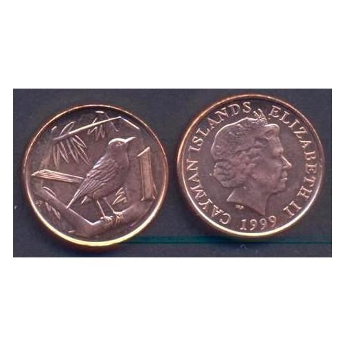 CAYMAN ISLANDS 1 Cent 1999