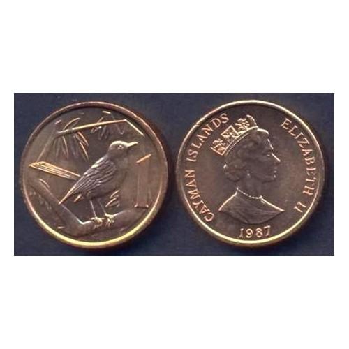 CAYMAN ISLANDS 1 Cent 1987