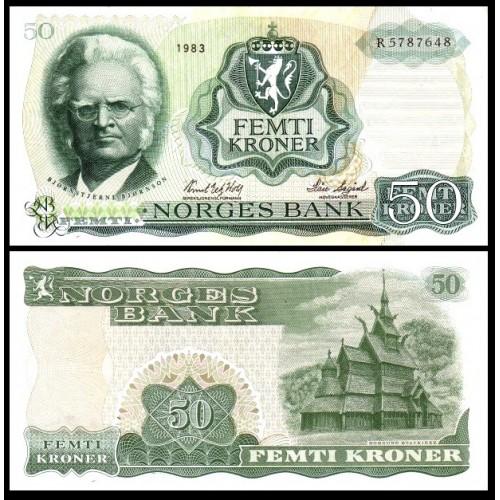 NORWAY 50 Kroner 1983