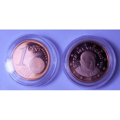 VATICANO 1 Euro Cent 2007...