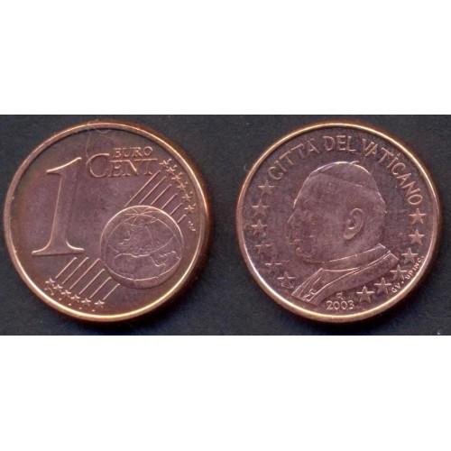 VATICANO 1 Euro Cent 2003