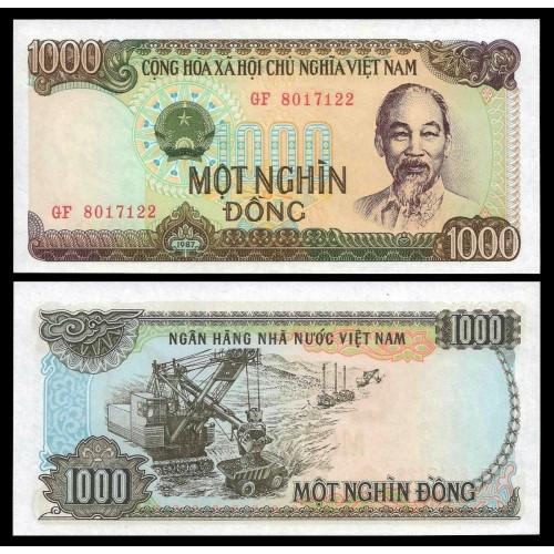 VIET NAM 1000 Dong 1987