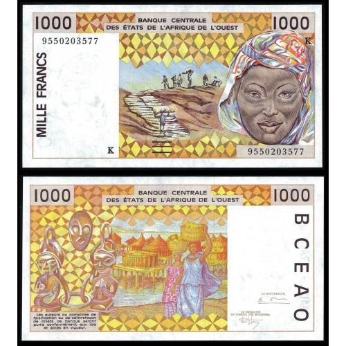 SENEGAL (W.A.S.) 1000...