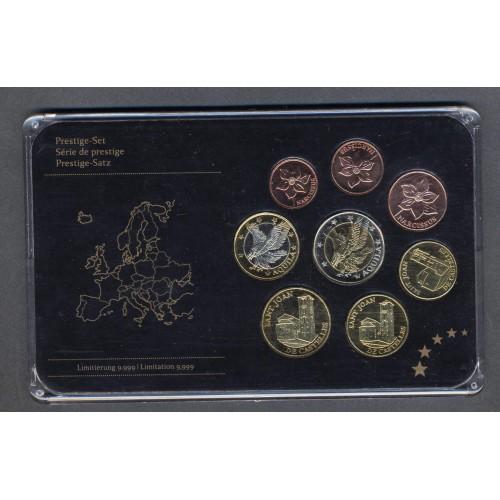 ANDORRA Set coins 2014 Euro...