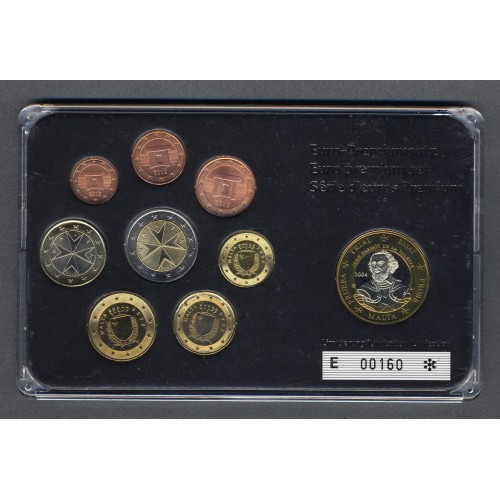 MALTA Set coins 2008 with 1...