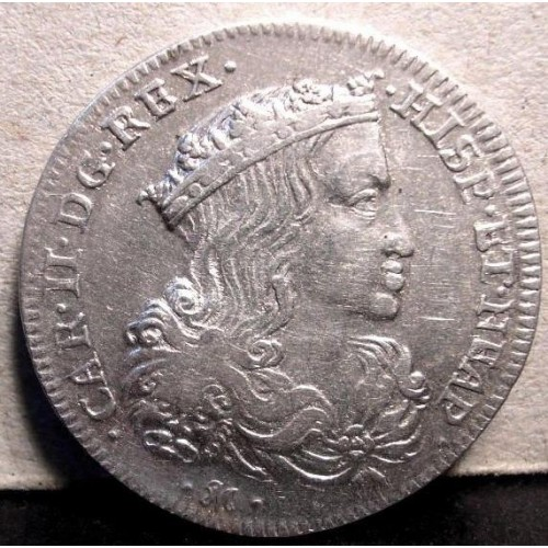 NAPOLI CARLO II Tarì 1691 SPL