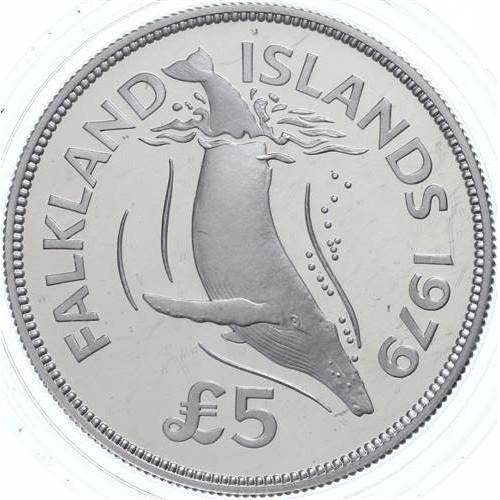 FALKLAND ISLANDS 5 Pounds...
