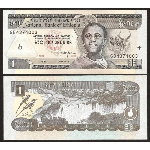 ETHIOPIA 1 Birr 2006