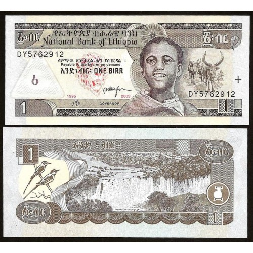 ETHIOPIA 1 Birr 2003