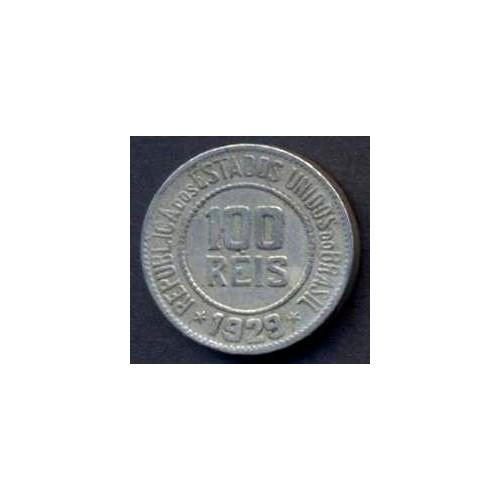 BRAZIL 100 Reis 1929
