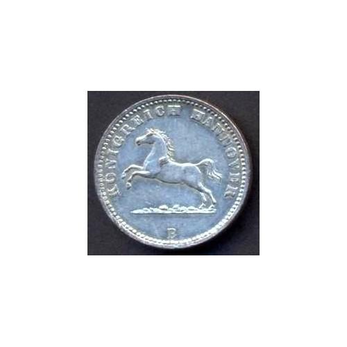 HANNOVER 1 Groschen 1865 AG