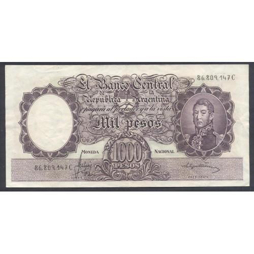 ARGENTINA 1000 Pesos 1966