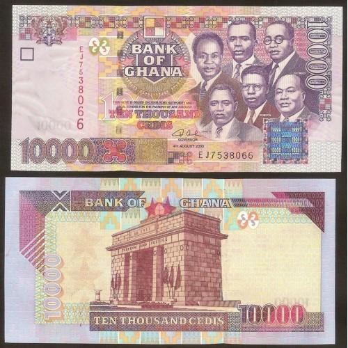 GHANA 10.000 Cedis 2003