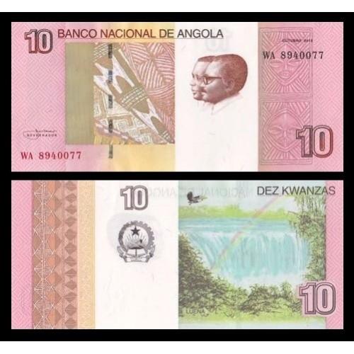 ANGOLA 10 Kwanzas 2012 (...
