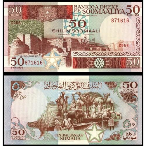 SOMALIA 50 Shillings 1989