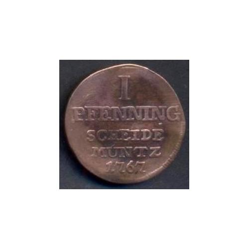 PADERBORN 1 Pfennig 1767
