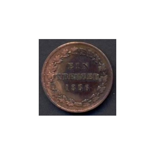 NASSAU 1 Kreuzer 1856
