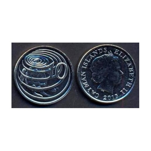 CAYMAN ISLANDS 10 Cents 2013