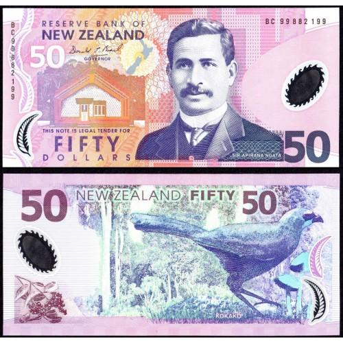 NEW ZEALAND 50 Dollars 1999...