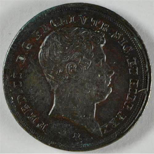 FERDINANDO II 1 TORNESE 1844