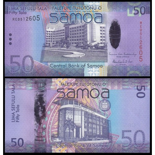 WESTERN SAMOA 50 Tala 2012...