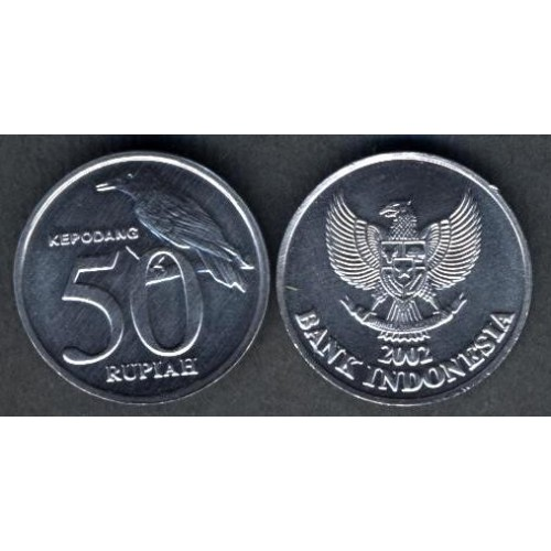 INDONESIA 50 Rupiah 2002