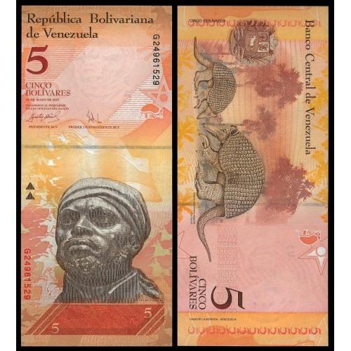 VENEZUELA 5 Bolivares 2007