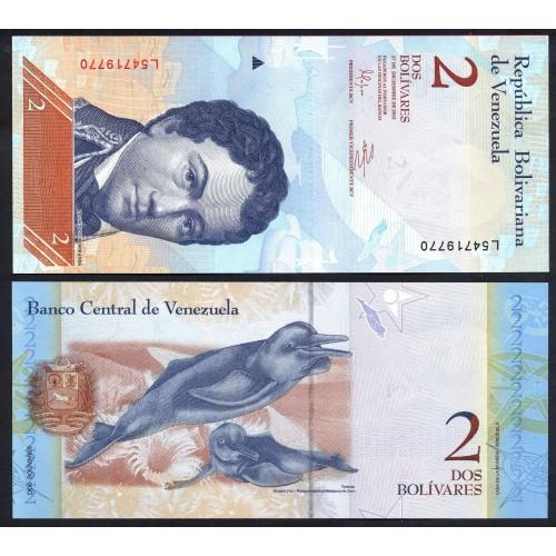 VENEZUELA 2 Bolivares...