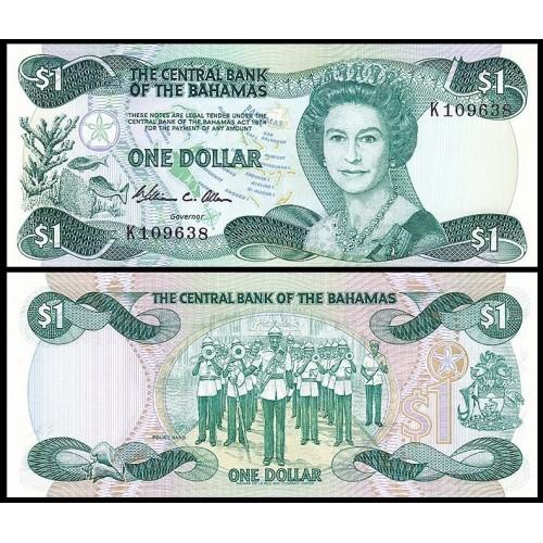 BAHAMAS 1 Dollar 1984