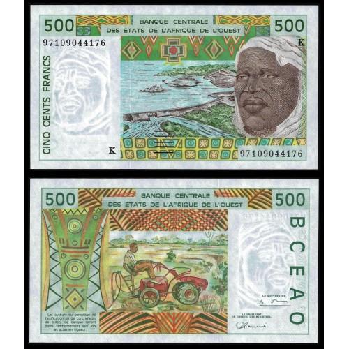 SENEGAL (W.A.S.) 500 Francs...