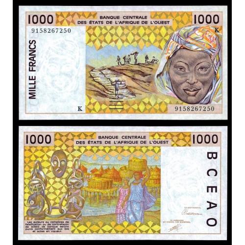 SENEGAL ( W. A. S. ) 1000...