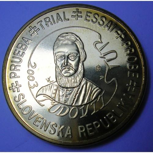 SLOVAKIA 50 Euro Cent 2003...