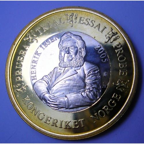 NORWAY 1 Euro 2005...