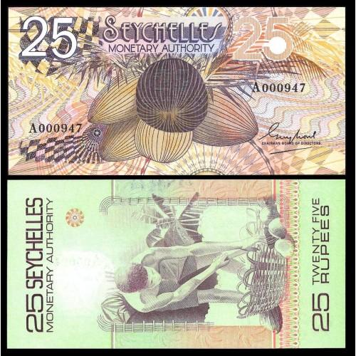 SEYCHELLES 25 Rupees 1979...