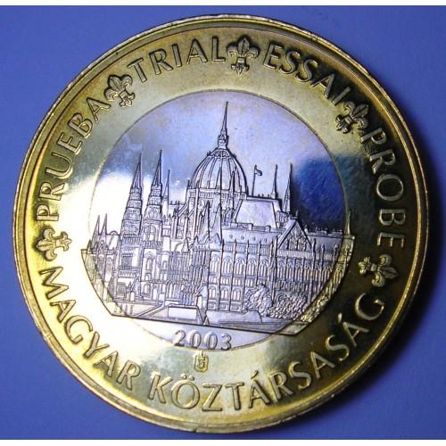 HUNGARY 1 Euro 2003...